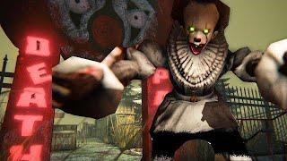 これ、心臓に悪いです。ペニーワイズに『ピエロ遊園地』で追われるホラーゲームが怖すぎる。(大絶叫あり)【Death Park】