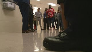 Young people get a look at life behind bars to keep them on the right track