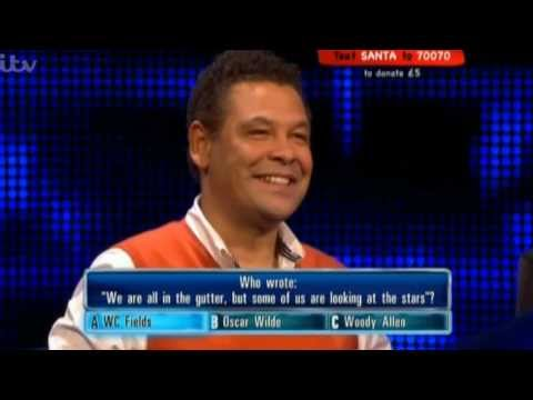Craig Charles on The Chase, 2012