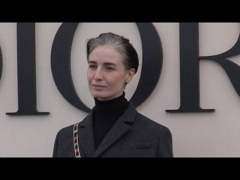 Erin O'Connor, Morgane Polanski and more at Dior SS 2019 Fashion  in Paris