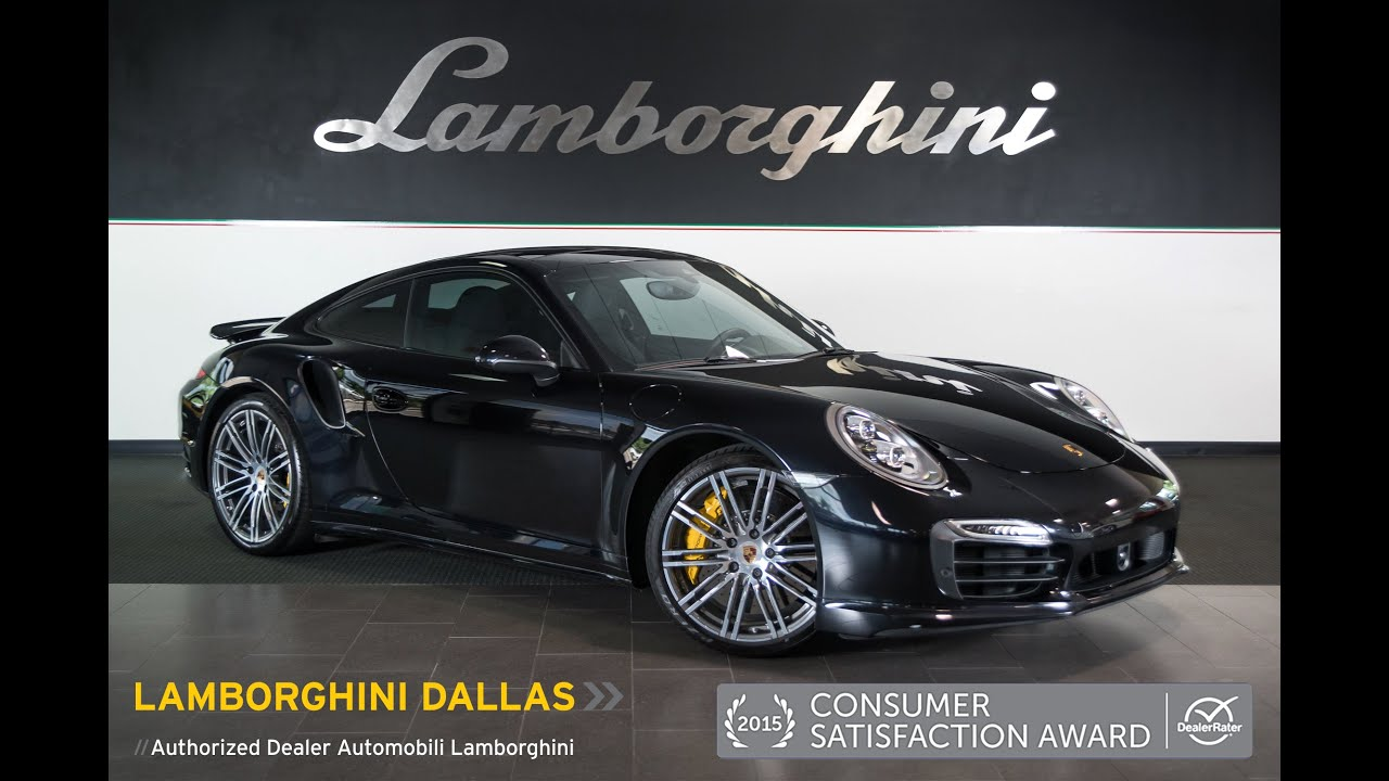 2015 porsche 911 turbo s metallic black l0781 - Porsche 911 2015 Black
