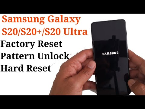 How to Hard Reset Galaxy S20 || S20+ || S20 Ultra
