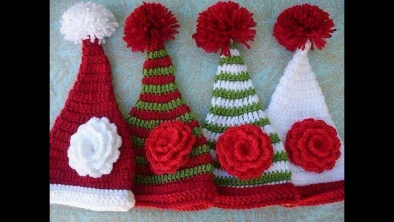 adornos para navidad tejidos a crochet