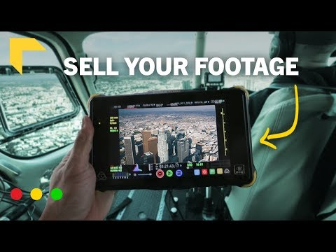 Ultimate Guide To Sell Stock Footage | Make Money From Filmmaking