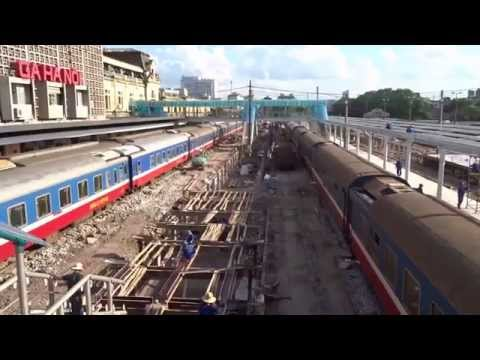 Hanoi Railway Station Construction High Platform (2014)
