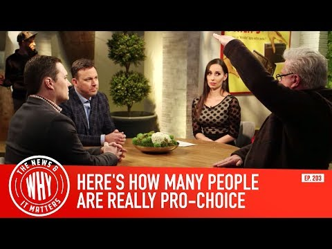 Here's How Many People Are Really Pro-Choice | The News & Why It Matters Ep. 203