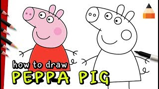 How To Draw Peppa Pig | Drawing Peppa Pig