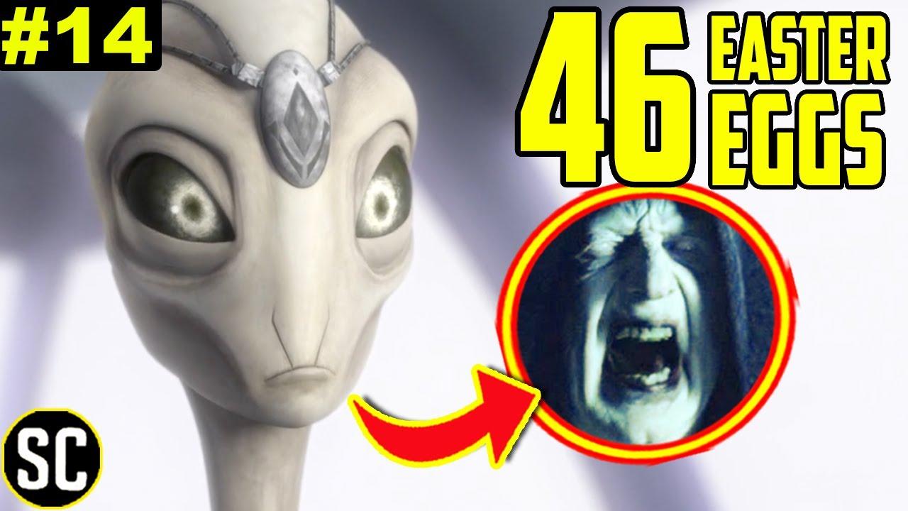 Star Wars BAD BATCH 1x14: Every EASTER EGG + Anakin Skywalker CLONE Explained | Full BREAKDOWN