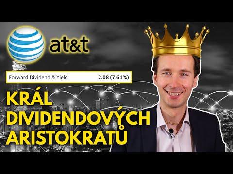 Akcie AT&T nabízí 7,6% dividendu a vysoké cash flow
