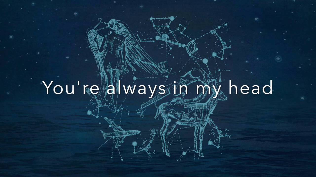Song Quotes Wallpaper Coldplay Always In My Head Lyrics Youtube