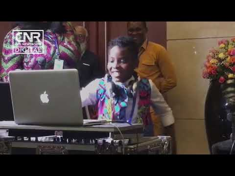 Young sensation DJ Switch treats African heads of State to great music at AU meeting