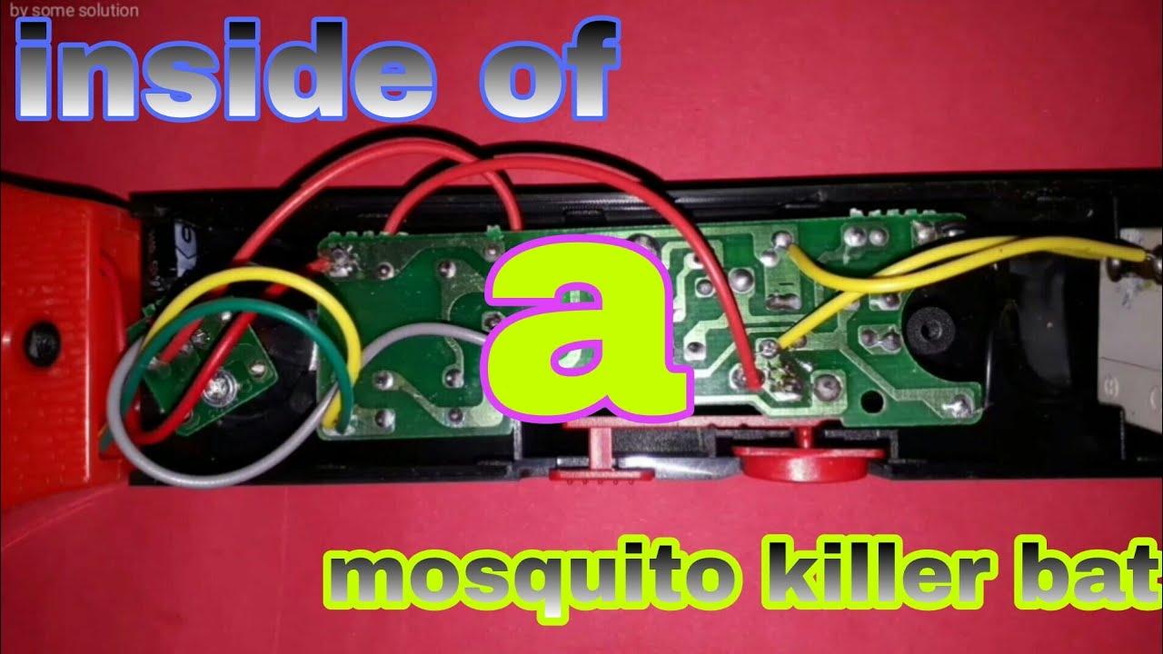 medium resolution of mosquito killer bat circuit diagram and working principle