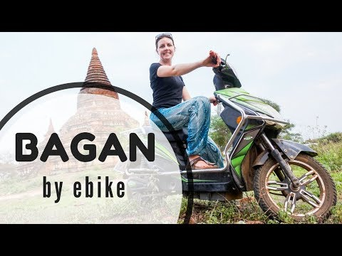 VLOG Getting Started in Bagan: Renting ebikes + first sunset
