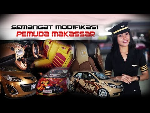 Semangat Modifikasi Para Pemuda Makassar
