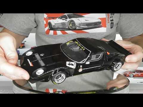 Liberty Walk Lamborghini Miura by GT Spirit Models Full Review