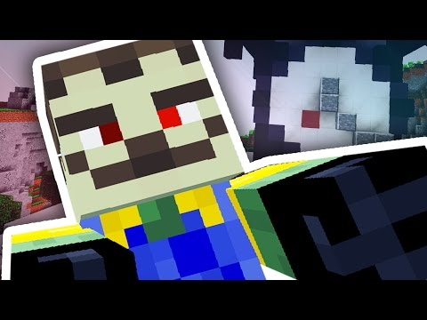 Thumbnail: HELLO NEIGHBOUR IN MINECRAFT!!!
