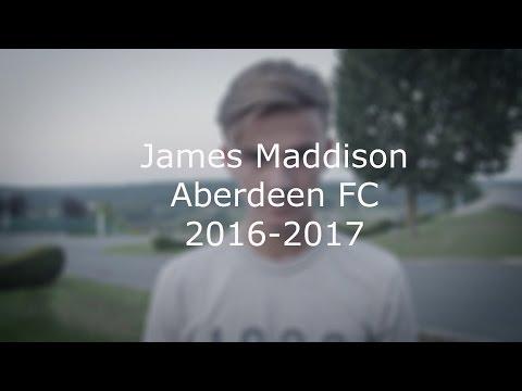 James Maddison 20162017 Aberdeen FC
