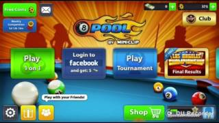 8 BALL POOL HACK ( Mod ) 100% WORKING !!!! ( March 2017 ) NO ROOT REQUIRED!