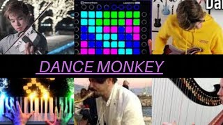Who Played It Better dance monkey launchpad,guitar,sax,harp