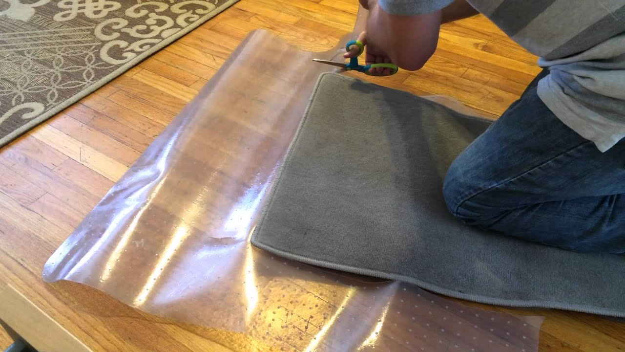 How To Make Free Weather Resistant Car Floor Mats Out Of Office Chair Floor  Mats   YouTube