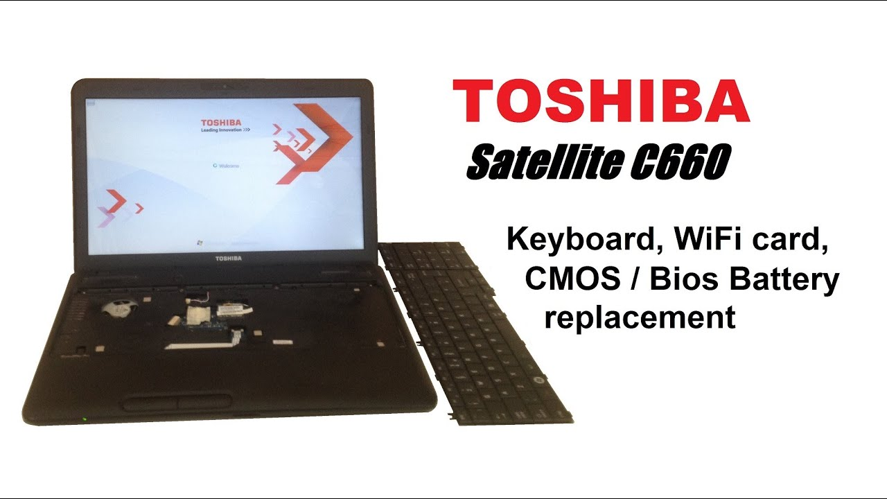 toshiba satellite c660 дрова на wifi