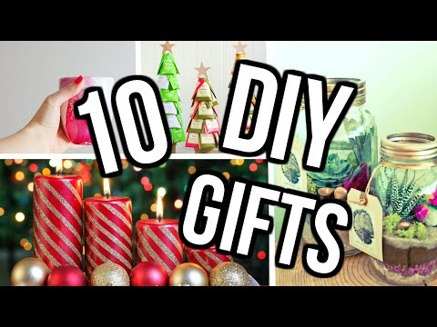 10 DIY Christmas Gift Ideas 2016! DIY Christmas Projects You Need To Try!