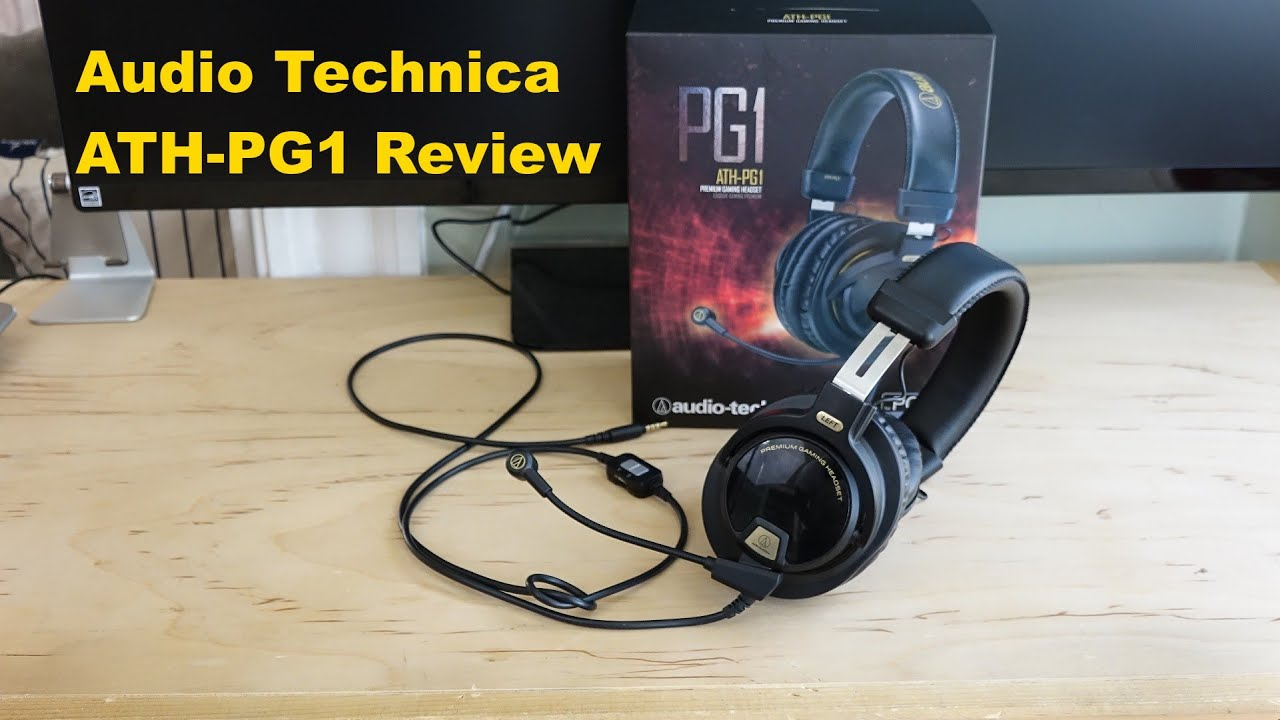 Audio-Technica ATH-PG1 Black