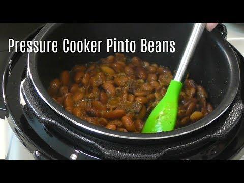 Pressure Cooker Pinto Beans ~ No Soak Quick Cook Beans ~ Cosori 2 Quart Electric Pressure Cooker