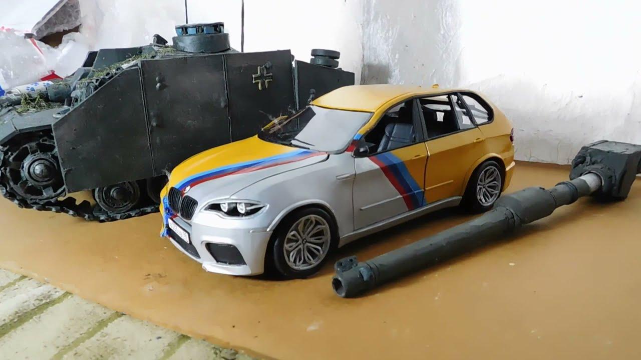BMW X5M Давидыча из пластилина, от Handmade