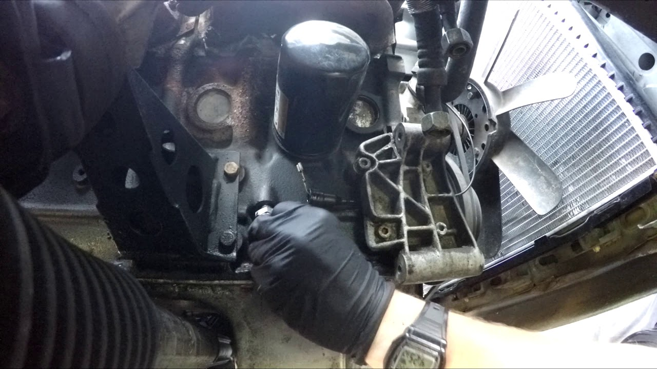 How To Replace Oil Pressure Sender Bmw E30 Youtube