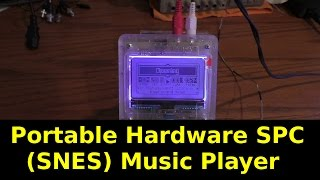 Portable FPGA SPC Music Player Overview
