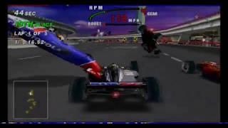 MAME 193 - CART FURY RACING - MIDWAY RARE ARCADE RACER EMULATED