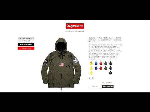 How to Buy Supreme Online- WITH A BOT(Heated Sneaks)