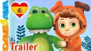 🐾 Allá en la Selva - Trailer | Canciones Infantiles | Música Infantil de Dave y Ava 🐾