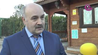 La Comarca.tv - Luis Soler explica la situación del camping de Alcañiz