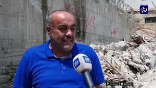 الاحتلال يشرع بهدم منازل في مخيم شعفاط ضمن خطة لإزالته (18-6-2019)