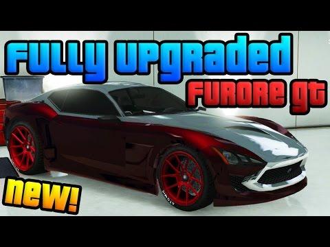 "GTA Online: New ""Last Team Standing"" DLC Car! - Fully Upgraded ""Furore GT"" (GTA 5 LTS DLC)"