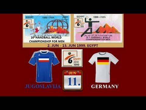 Handball Egypt 1999 Jugoslavija - Germany ex yu ex ju sport