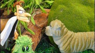 МЫ УМЕНЬШИЛИСЬ 3 СЕРИЯ Мультфильмы про животных для детей ПОИСК УЧЕНОГО