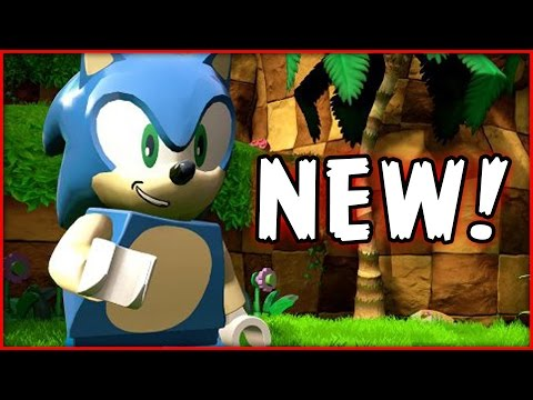 NEW! SONIC In LEGO Dimensions Trailer! Minifig, Vehicle & More!