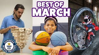 Awesome new March records! - Guinness World Records