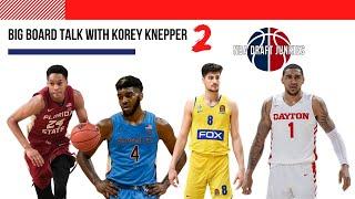 NBA Draft Junkies | Big Board Talk with Korey Knepper Big Board II