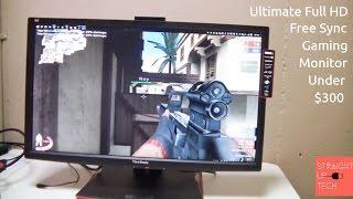 viewsonic xg2401 144hz 1080p gaming monitor review gaming monitor on a budget