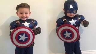 Cute Costumes For Kids Like Marvel Heroes|| FUNNY VIDEO