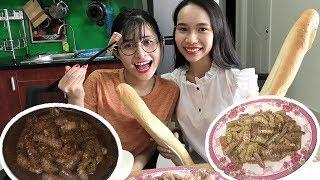 VLog Chị Bánh Xèo Và Món Tôm Tích Siêu Mặn
