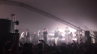 "Francis and the Lights, Chance the Rapper, and Justin Vernon: ""Friends"" live at Eaux Claires 8/13/16"