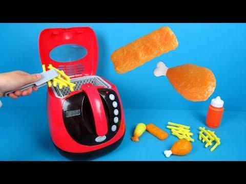 Speelgoedkeuken Frituurpan Van Play Go | Speelgoed Uitpakken