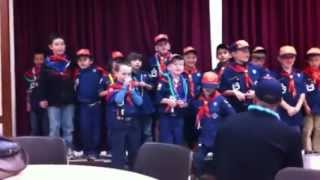 Happy Birthday Cub Scouts! from Pack 36 of Goleta, California