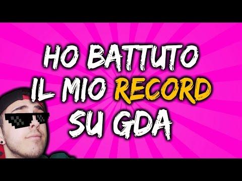 HO BATTUTO IL MIO RECORD SU GDA