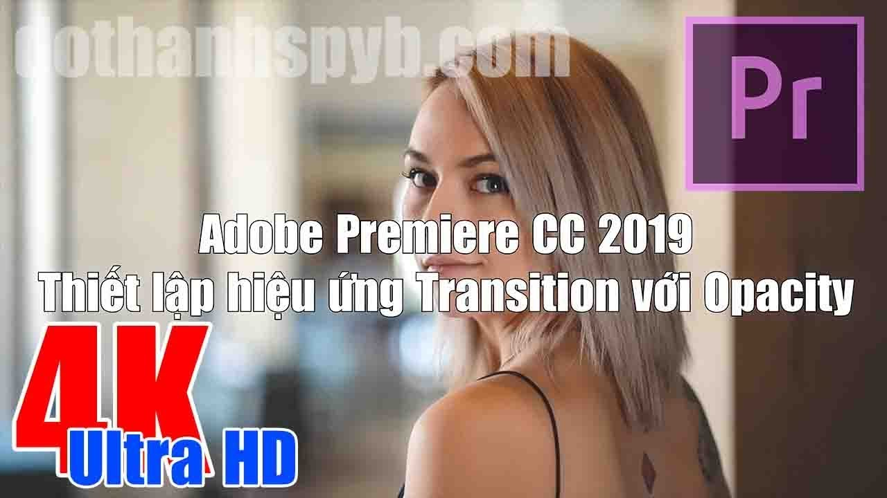 Transition Opacity in Adobe Premiere